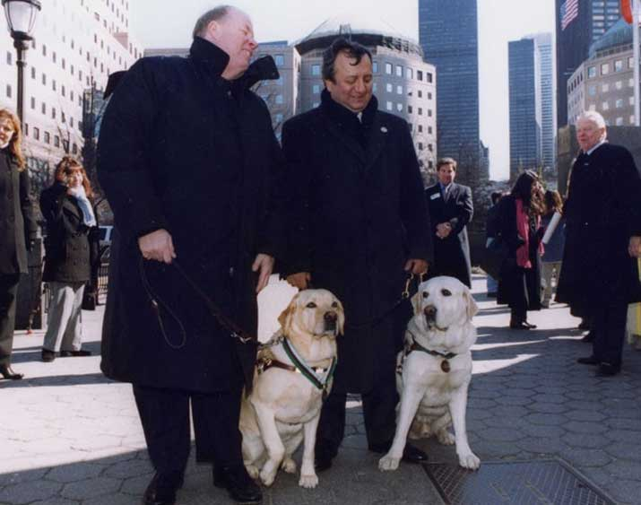 guide dogs for the blind 9/11